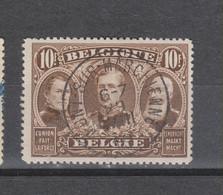 COB 149 Oblitération Centrale MONT-SUR-MARCHIENNE - 1915-1920 Albert I