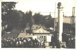 Latvia:Soldiers Parade Somewhere, Photo By P.Butkaus, Pre 1940 - Lettonie