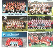 Germany - 5 Phonecards / 1 Giftcard  - FC Fussball Team - Football - Soccer - Mannschaft - Sport