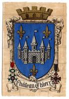 CHATEAU THIERRY --  Beau  Blason   Signé  Louis .......................à Saisir - Chateau Thierry