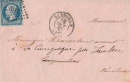 LETTERA 1859 IMPERO FRANCESE 20 C (RY684 - 1849-1876: Klassik