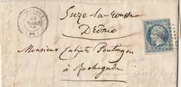 LETTERA 1859 IMPERO FRANCESE 20 C (RY685 - 1849-1876: Klassik