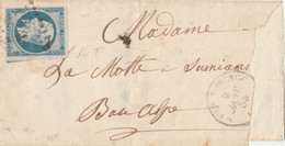 LETTERA 1859 IMPERO FRANCESE 20 C. Non Perfetto (RY689 - 1849-1876: Klassik