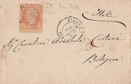 LETTERA FRANCIA 1867 40 C. (RY692 - 1849-1876: Klassik