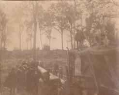 Photo Septembre 1920 CHUIGNOLLES (près Proyart) - Gros Canon Allemand (A233, Ww1, Wk 1) - Other Municipalities