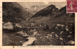 N°16066 Z -cpa Bagnères De Bigorre -cabanes De Tramasaigues Et Pic Du Midi- - Bagneres De Bigorre