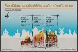 Israel 1985 Mi Nr. Block 28  ** Postfrisch  ( D2043 )günstige Versandkosten - Blocs-feuillets