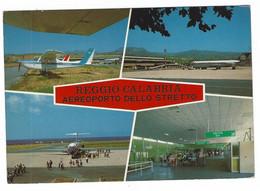 11.119 - REGGIO CALABRIA AEROPORTO DELLO STRETTO AIRPLANE PLANE AEREO AEREI 1970 CIRCA - Reggio Calabria