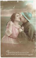 CPA FRANCE THEMES MILITARIA - Un Baiser Au Mendiant D'amour - 1916 - Other