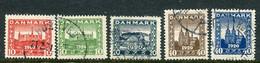 DENMARK 1920 Reunion With North Schleswig I+II  Used.  Michel 110-12, 114-15 - Gebraucht