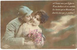 CPA FRANCE THEMES MILITARIA - 1914-18 - Les Baisers Sont Les Obus Que Je Préfère - Other