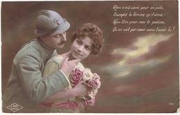 CPA FRANCE THEMES MILITARIA - Rien N'est Sacré Pour Un Poilu Excepté La Femme Qu'il Aime - 1916 - Other