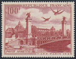 PA 28** 100F. PONT ALEXANDRE III - 1927-1959 Mint/hinged