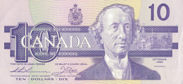 K28 - CANADA - Billet De 10 Dollars - Année 1989 - Canada
