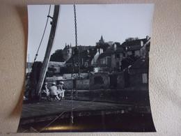Montargis Loiret PHOTO AMATEUR VERS 1970 CHATEAU CANAL 16.5/16.5CM - Lugares