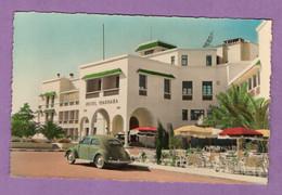 Afrique Maroc Agadir Entrée De L Hotel Marhaba - Coccinelle Voiture Volskwasgen -  1957 - Agadir