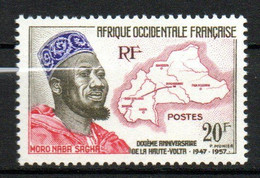 Col23 AOF Afrique  N° 73 Neuf XX MNH Cote 1,50 Euro - Unused Stamps