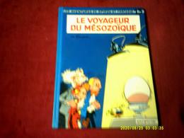 Les Aventures De Spirou Et Fantasio  N° 13  LE VOYAGEUR DU MESOZOIQUE  //  Imprime En Belgique  8 (1980) - Spirou Et Fantasio