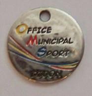 Jeton De Caddie Metal - OMS - Office Municipal Du Sport DIJON - Au Service Du Sport Dijonnais - Einkaufswagen-Chips (EKW)