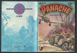 BD  Panache (Imperia) N° 15. Enfer Vert   EDIT.imperia 1juin 1962  Fau 11104 - Small Size