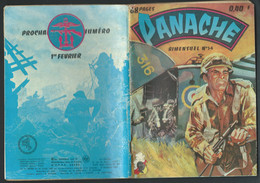 BD  Panache (Imperia) N° 54.  Le Porte  Guigne    EDIT.imperia 1  Tri.  1964  Fau 11106 - Small Size