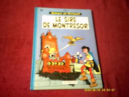 JOHAN ET PIRLOUIT  / LE SIRE DE MONTRESOR  N° 8   IMPRIME EN BELGIQUE 1   (1980) - Johan Et Pirlouit