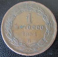 Italia / Vatican / Vaticano - Monnaie 1 Baiocco 1851 B (Bologna) - Vaticano