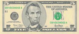 K28 - ETATS-UNIS - Billet De 5 Dollars - Billetes De La Reserva Federal (1928-...)