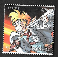 TIMBRES  FRANCE. OBLITERATION  RONDE..2016  MANGA. N°5081...BE SCAN - Gebraucht