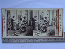 Photo Stéréoscopique ITALIE -  NAPLES - N° 593 Agrippina Museo Di Napoli - Stereoscopic