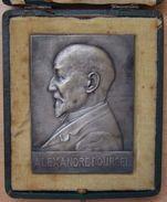 Médaille École Des Mines De Saint-Étienne, Alexandre Pourcel 1925 - Professionals / Firms