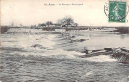 47 LOT Et GARONNE Le Barrage à Beauregard Près D'AGEN - Agen