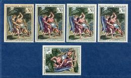 ⭐ France - Variété - YT N° 1376 - Couleurs - Pétouilles - Neuf Sans Charnière - Timbre Bas Avec Charnière - 1963 ⭐ - Varieties: 1960-69 Mint/hinged