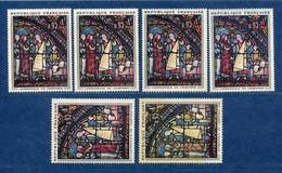 ⭐ France - Variété - YT N° 1399 - Couleurs - Pétouilles - Neuf Sans Charnière - Timbre Bas Droite Charnière - 1964 ⭐ - Varieties: 1960-69 Mint/hinged