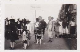 """Duinbergen Corso Fleuri 1933 """"les Jeunes Célibataires"""" Photo 5 X 7 - Autres"""