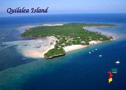 Mozambique Quirimbas Quilalea Island Aerial View New Postcard Mosambik AK - Mozambique