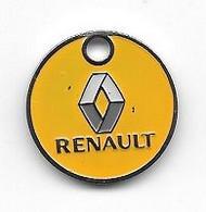 Jeton De Caddie  Ville, Automobiles  RENAULT  Verso  GARAGE  DES  OLIVFIERS  à  VENCE  ( 06 ) - Einkaufswagen-Chips (EKW)