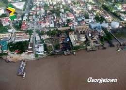 Guyana Georgetown Port Aerial View New Postcard - Other