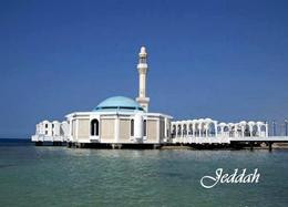Saudi Arabia Jeddah Al Rahma Floating Mosque New Postcard Saudi Arabien AK - Saudi Arabia