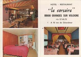 CPSM  88 GRANGES SUR VOLOGNE   HOTEL  LE  CORSAIRE - Granges Sur Vologne