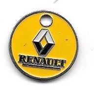 Jeton De Caddie  Ville, Automobiles  RENAULT  Verso  Garage  St  Clément  76100  ROUEN - Einkaufswagen-Chips (EKW)