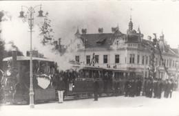 9724) WIEN MAUER - Straßenbahn ZUG Personen - Stempel Technisches Bildarchim Herberg Johamm - - Other