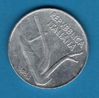 ITALIA 10 LIRE 1956 KM# 93 - 10 Lire