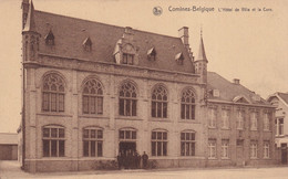 COMINES  L'HOTEL DE VILLE ET LA CURE - Comines-Warneton - Komen-Waasten