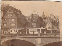 Photo 1921 STRASBOURG - Pont Du Faubourg National, Tramway (A233) - Strasbourg