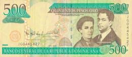 K29 - RÉPUBLIQUE DOMINICAINE - Billet De 500 PESOS - Année 2010 - República Dominicana