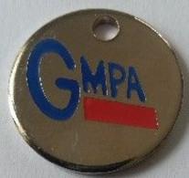 Jeton De Caddie - GMPA - En Métal - - Einkaufswagen-Chips (EKW)
