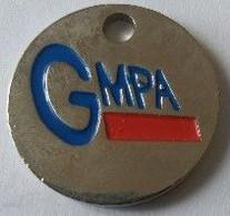 Jeton De Caddie - GMPA - 1 Euro - En Métal - - Einkaufswagen-Chips (EKW)
