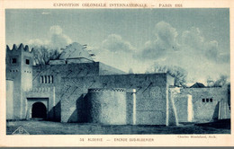 75 PARIS 1931 EXPOSITION COLONIALE INTERNATIONALE ALGERIE ENCADE SUD ALGERIEN - Exposiciones