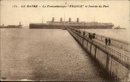 BATEAUX - Transatlantique - Paquebot FRANCE - LE HAVRE - Paquebots